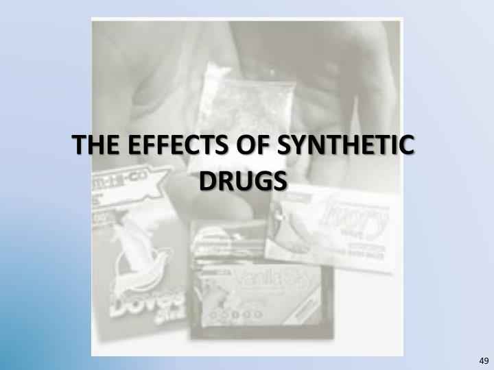 the Effects of synthetic DRUGS