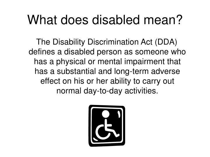 research paper on disability discrimination Wprpd white paper on the rights of  unfair discrimination on the basis of disability discrimination on  research brief on disability and equality in.