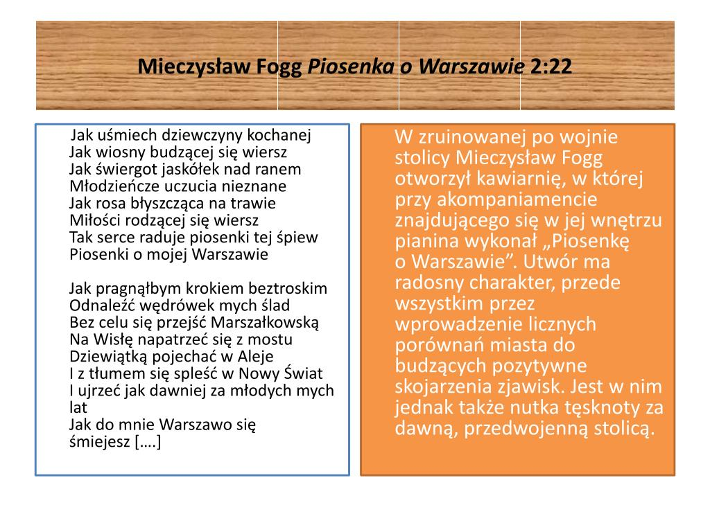 Ppt Jak Warszawa Wyglądała Dawniej A Jak Dzisiaj