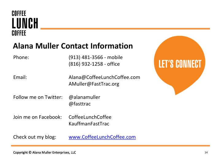 Alana Muller Contact Information