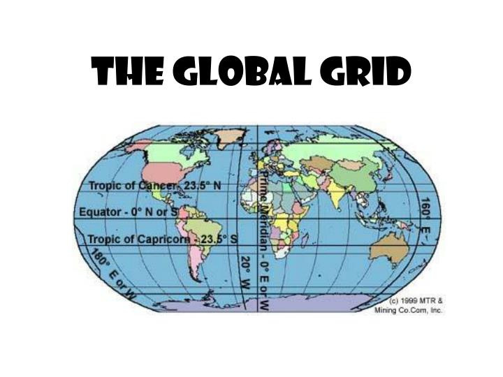 ppt - the global grid powerpoint presentation