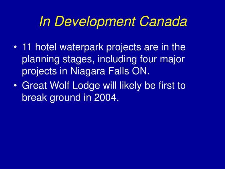 In Development Canada