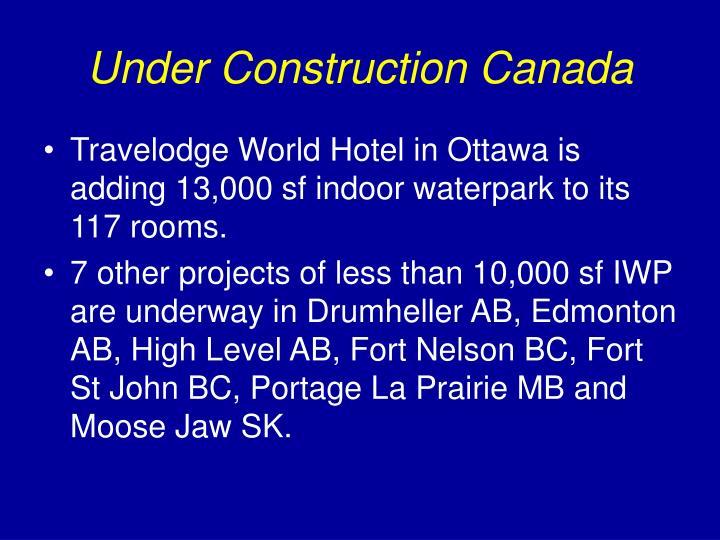 Under Construction Canada