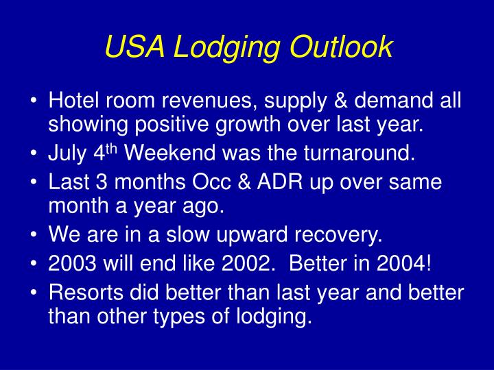 Usa lodging outlook1