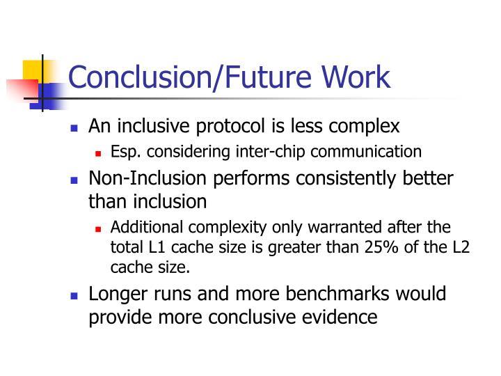 Conclusion/Future Work