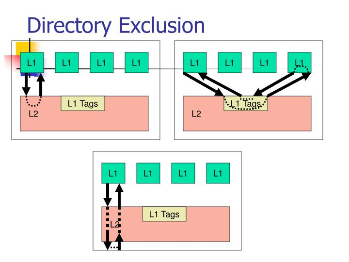 Directory Exclusion