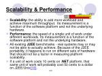 scalability performance