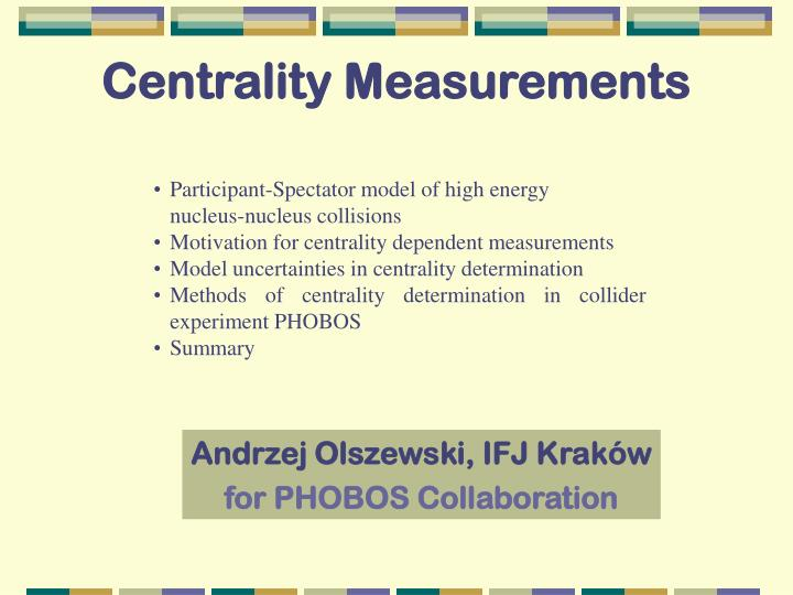 centrality measurements n.