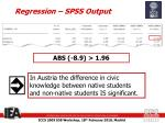 regression spss output3