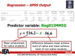 regression spss output5