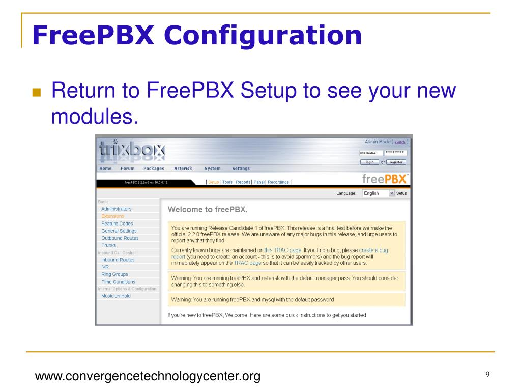 Freepbx No Audio Inbound