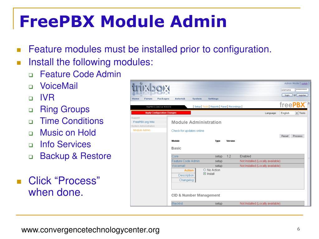 Freepbx Modules Download