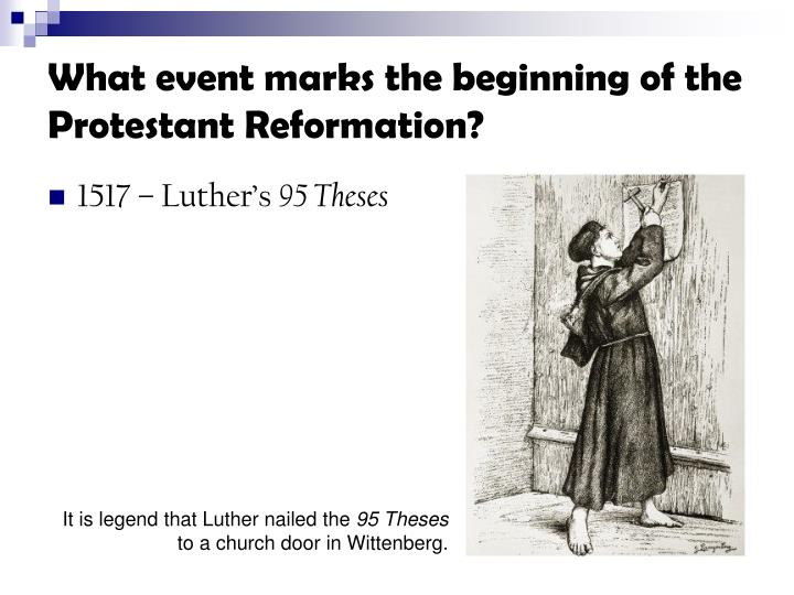 what were the causes of the protestant reformation There is no single, simple cause one can point to as to why the men like martin luther succeeded in launching a thriving reformation while men with the reformation began in the early 16th century the moment that has come to symbolize the dawn of the protestant reformation, martin luther.