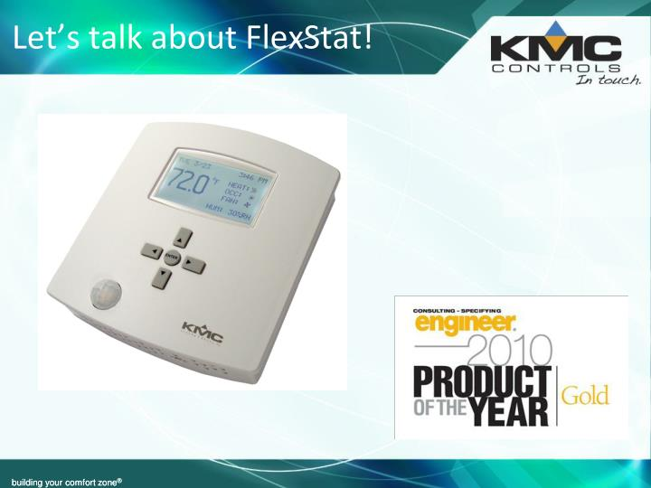 Let s talk about flexstat