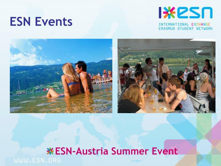 ESN Events