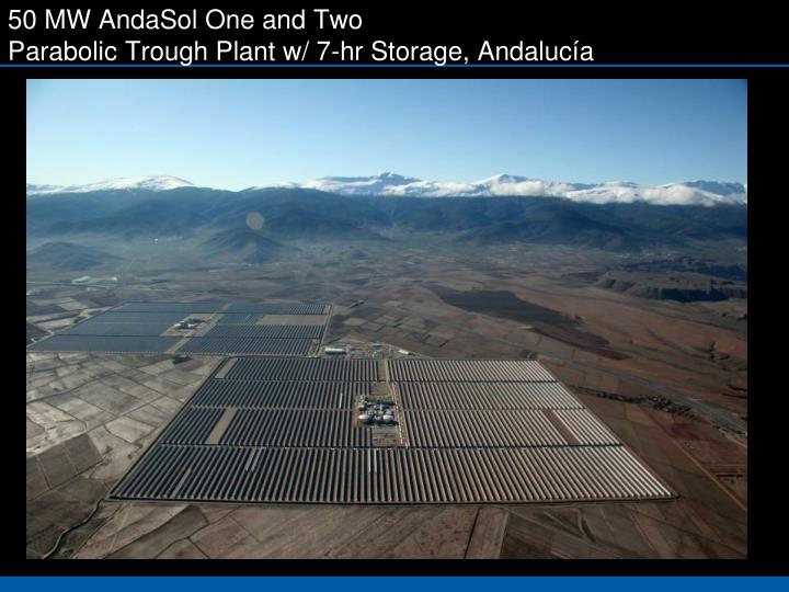 50 MW AndaSol One and Two