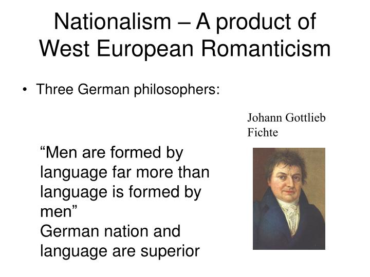Nationalism – A product of