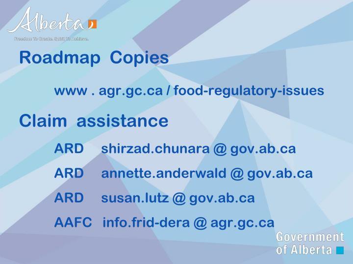 Roadmap  Copies