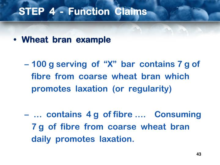 STEP  4  -  Function  Claims