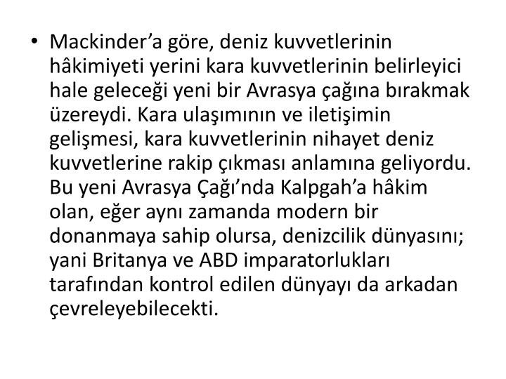 Mackinder'a