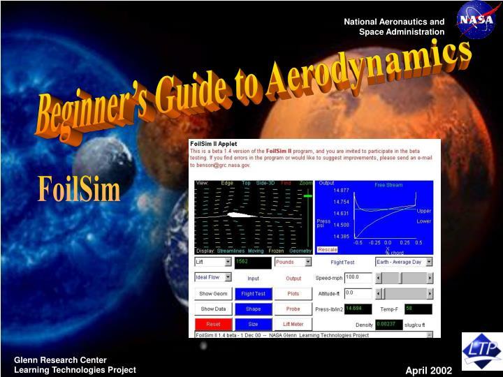 Beginner's Guide to Aerodynamics