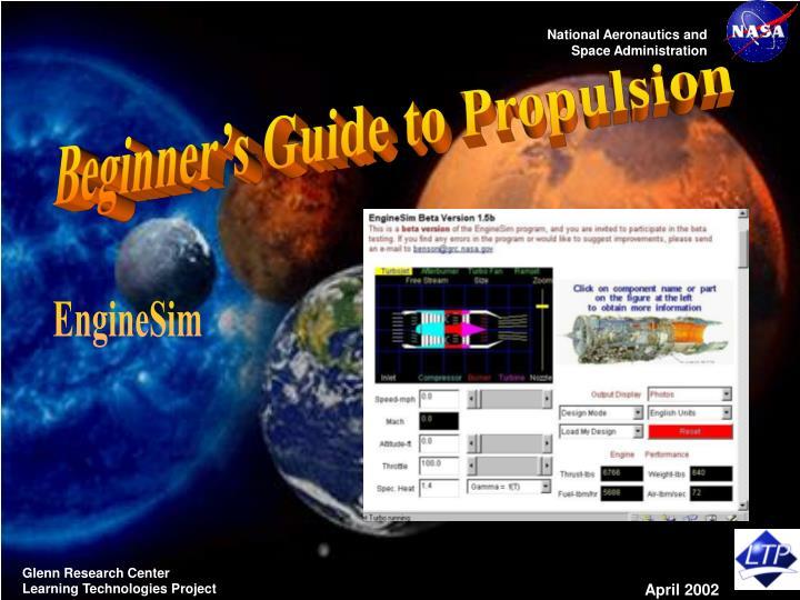 Beginner's Guide to Propulsion