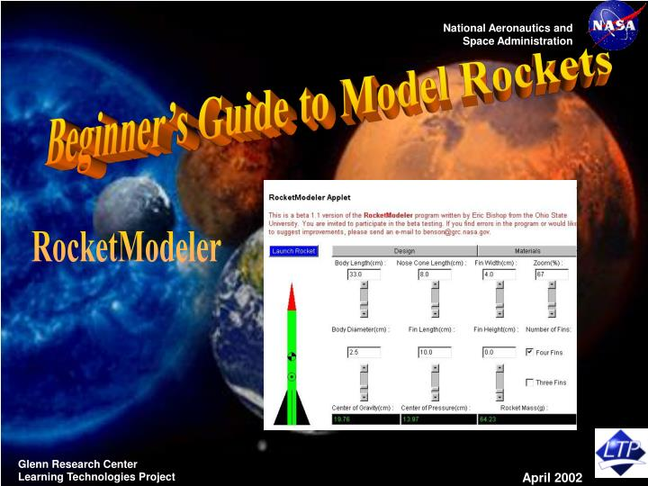 Beginner's Guide to Model Rockets