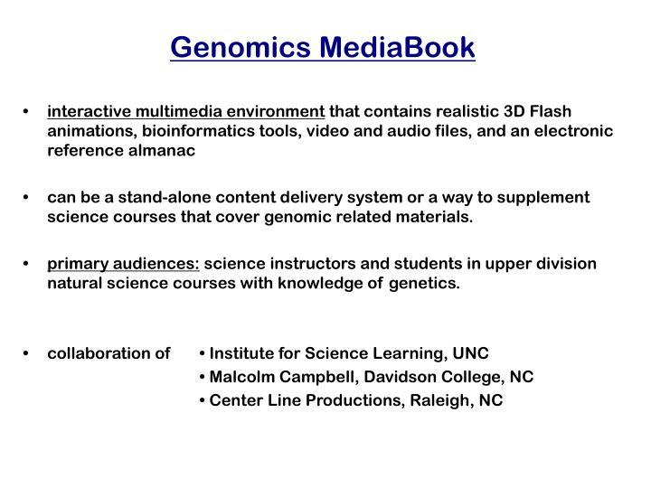 Genomics MediaBook