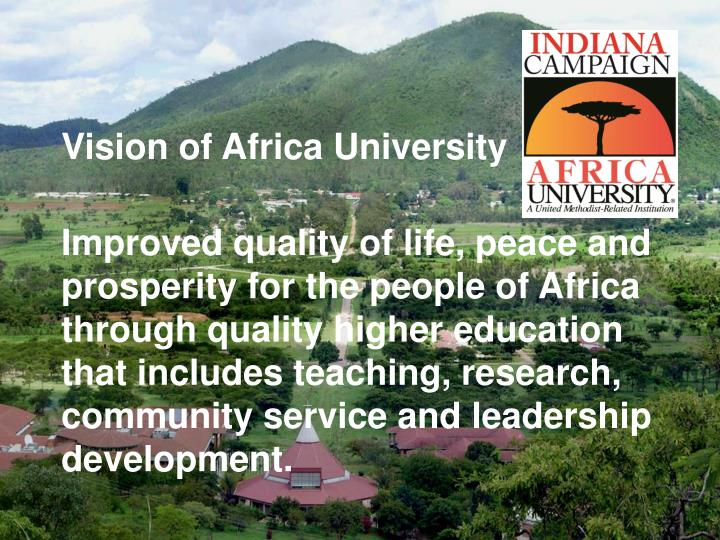 Vision of Africa University