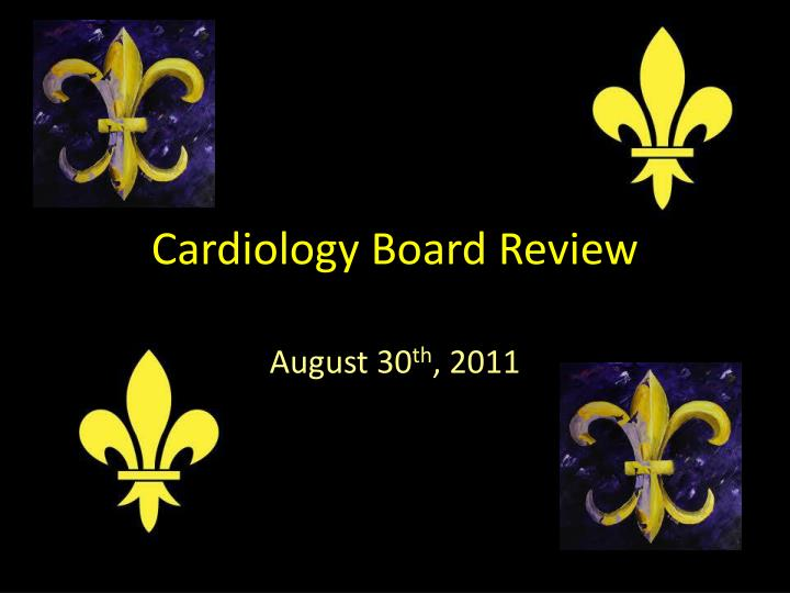 cardiology board review n.