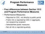 program performance measures1