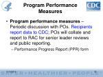 program performance measures2