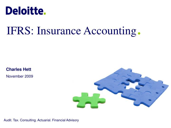 Ifrs insurance accounting