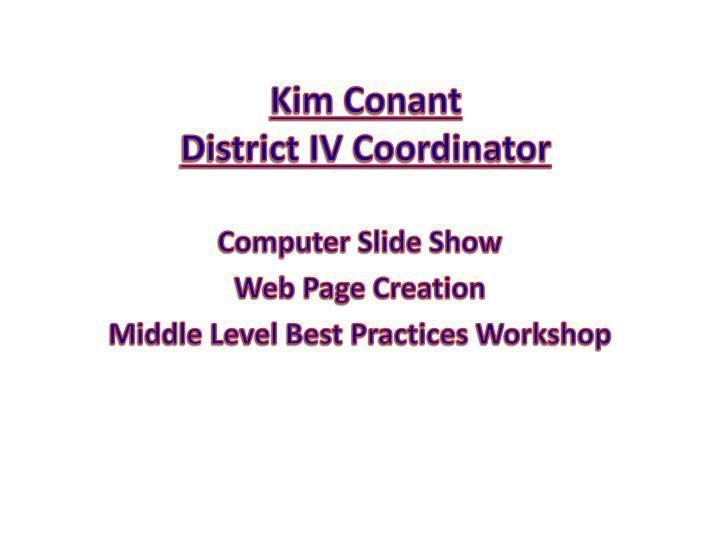 Kim Conant