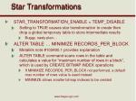star transformations4