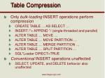 table compression2