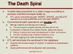 the death spiral