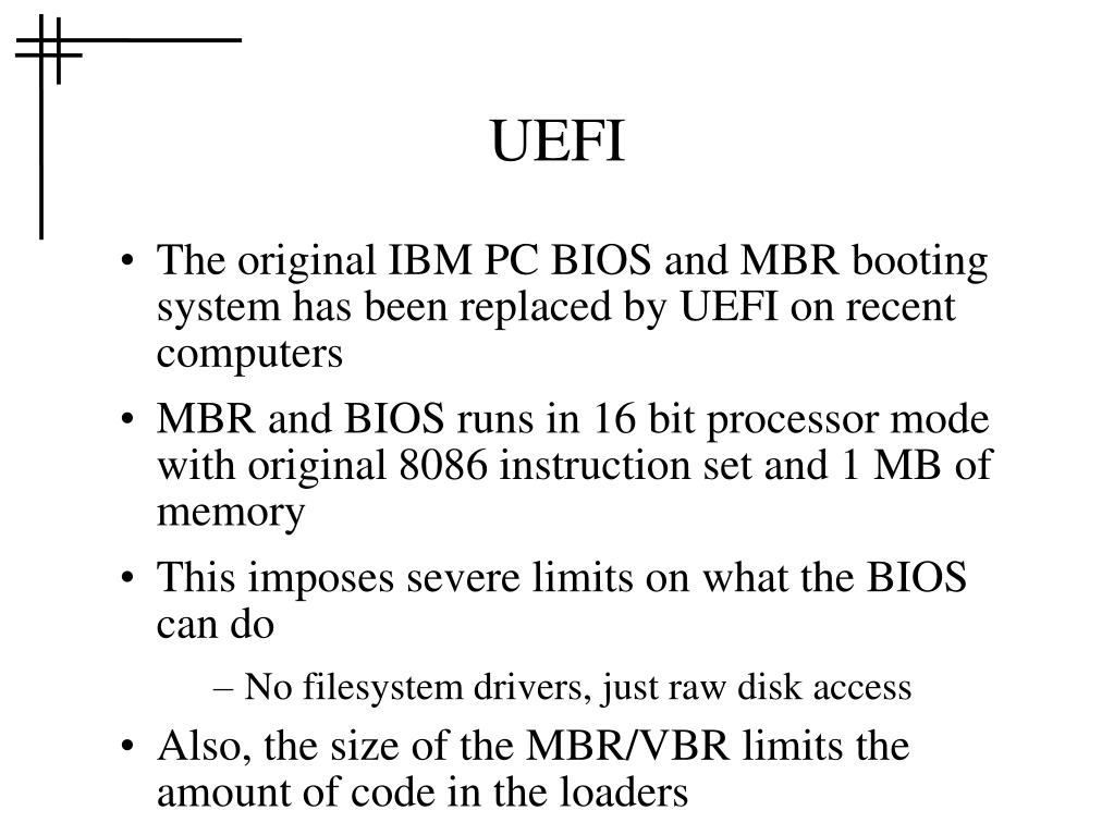 PPT - COMP075-OS2 Booting (cont ) PowerPoint Presentation