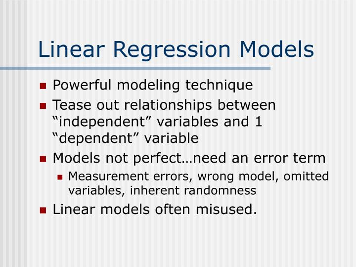 what is the relationship between independent and dependent variables what is the purpose of differen In simple linear regression a single independent variable is used to predict the value of a dependent variable in multiple linear regression two or more independent variables are used to predict the value of a dependent variable the difference between the two is the number of independent variables.