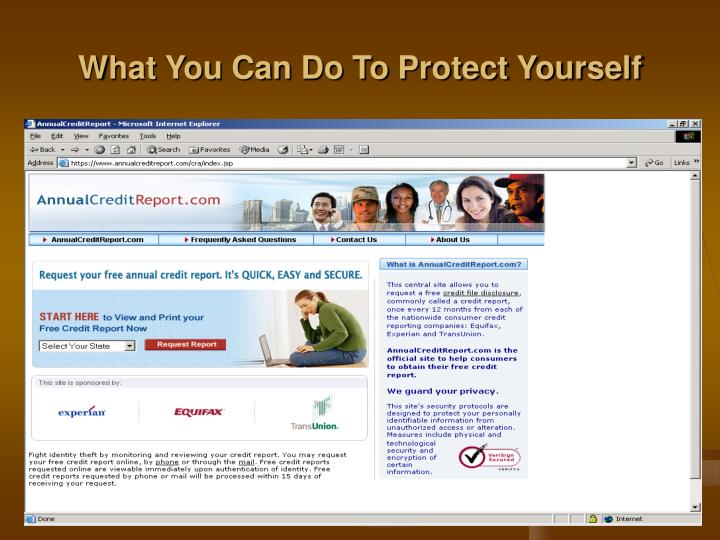 What You Can Do To Protect Yourself