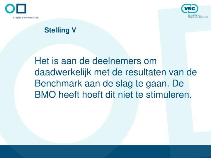 Stelling V