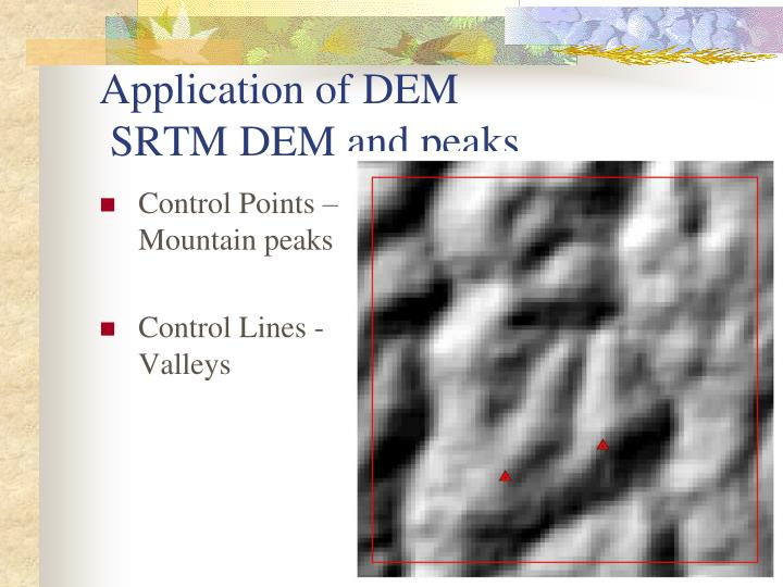 Control Points – Mountain peaks