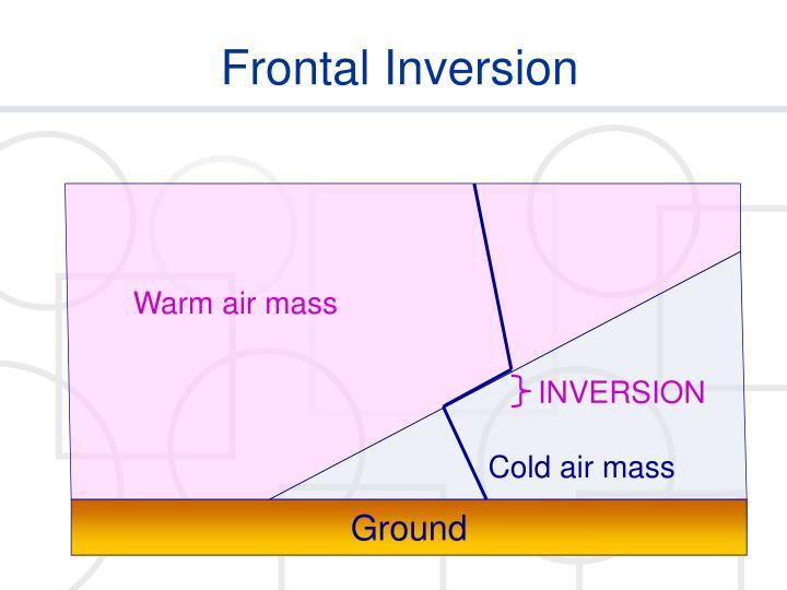 Warm air mass