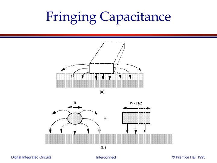 Fringing Capacitance