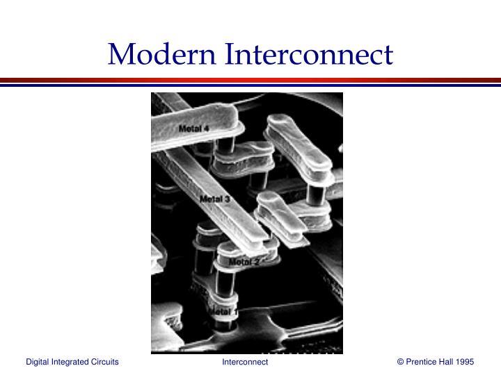 Modern Interconnect