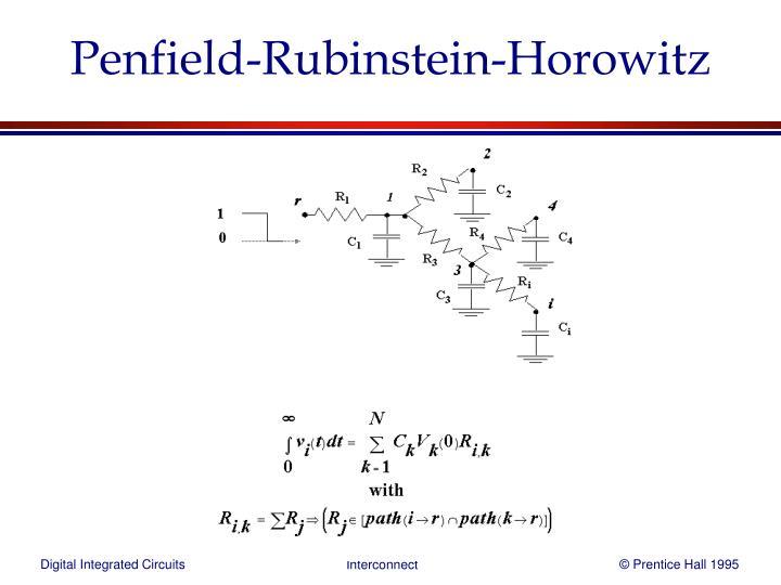 Penfield-Rubinstein-Horowitz