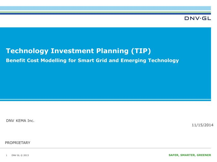 Technology investment planning tip