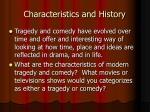 characteristics and history1