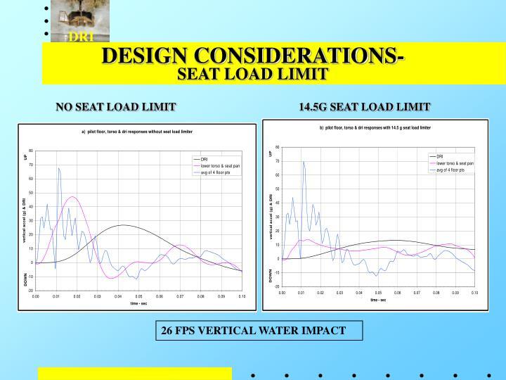 DESIGN CONSIDERATIONS-
