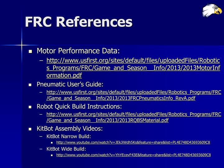 FRC References